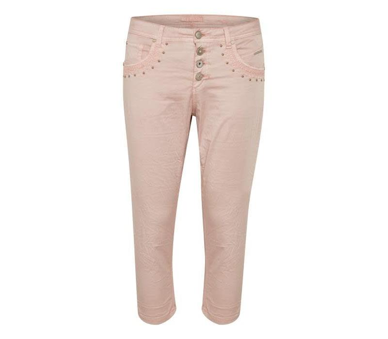 Hosen | Tilde Capri - Bailey fit-slim | Sepia Rose