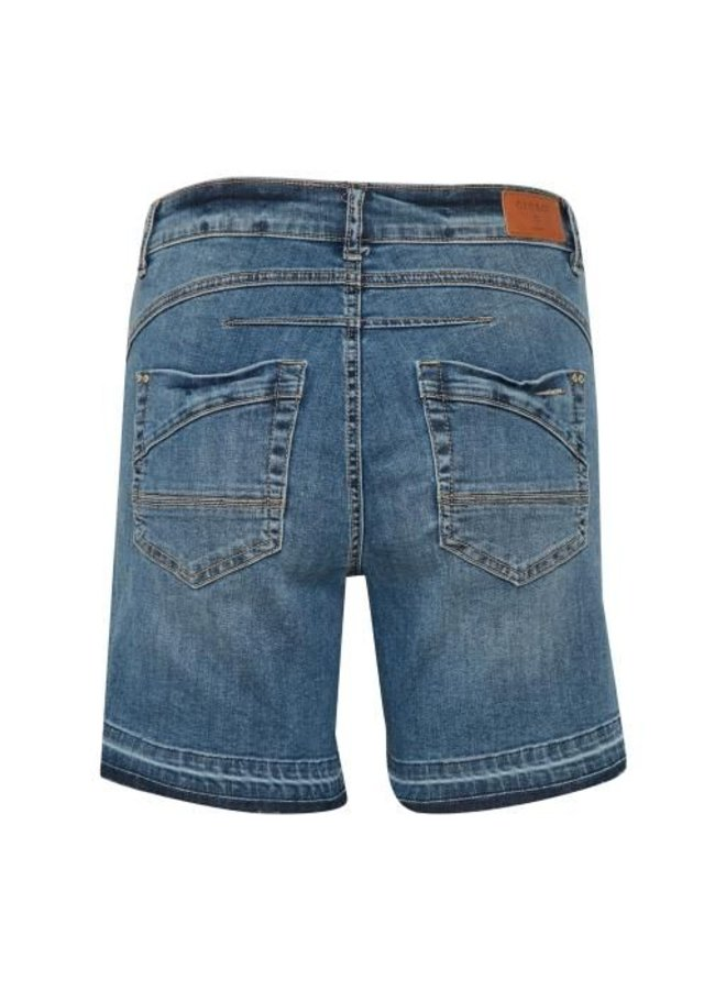 Hosen | Lea shorts - bailey fit | Medium blue denim