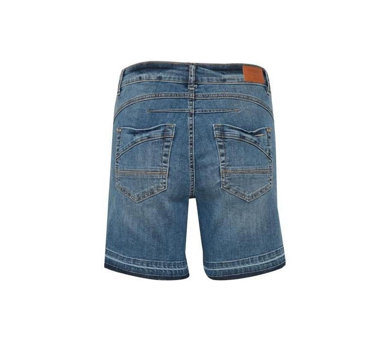 Hosen | Pearl shorts - bailey fit | Medium blue denim