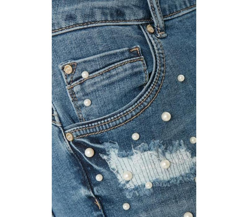 Hosen   Lea shorts - bailey fit   Medium blue denim