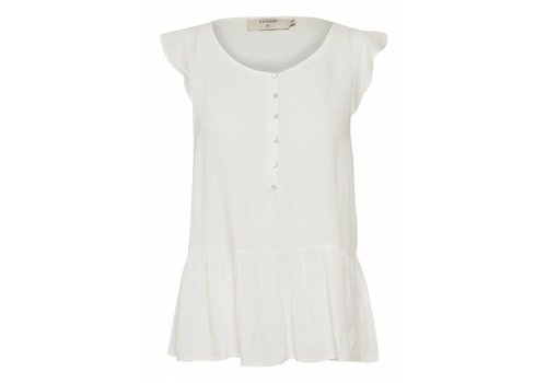 Cream Clothing Shirt | Debby Top | Chalk