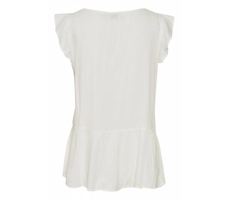 Shirt | Debby Top | Chalk