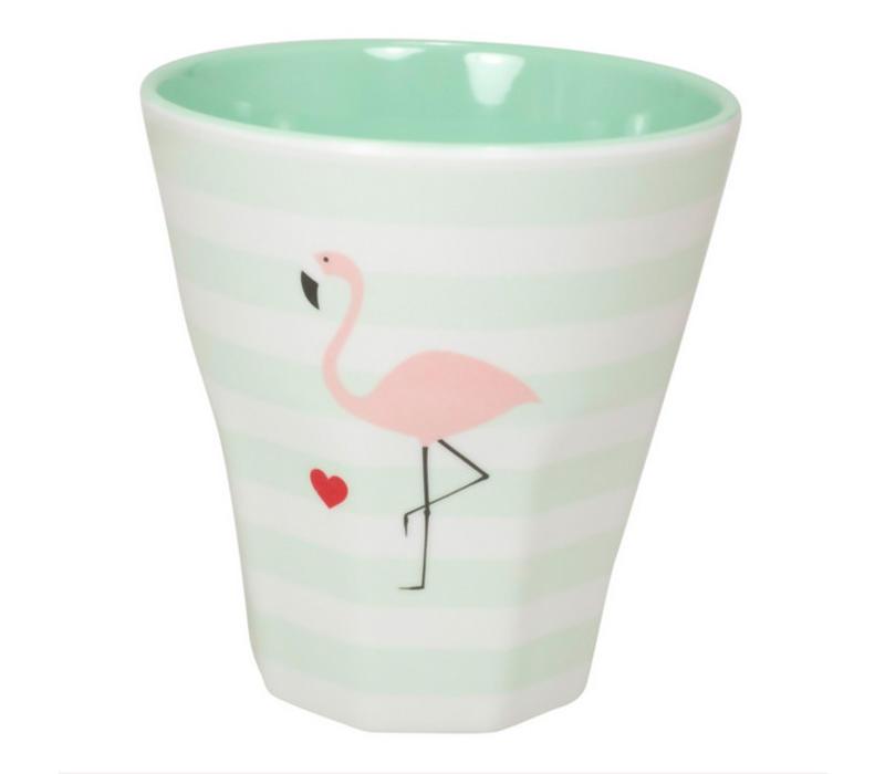 Melamin Becher Klein   Flamingo   250 ml