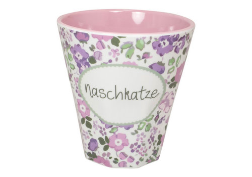 Mea Living Melamin Becher Klein | Naschkatze | 250 ml