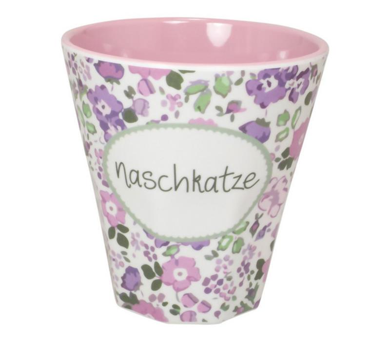 Melamin Becher Klein | Naschkatze | 250 ml