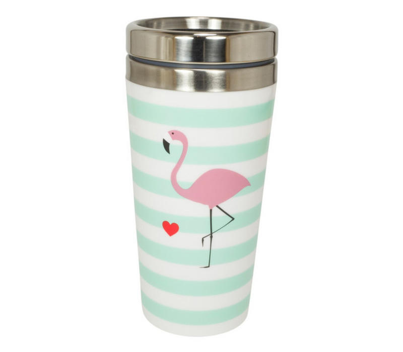 Coffee to go Metall   Flamingo   400 ml