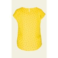 Shirt   Shirley Top Tiny Tango   Dandelion Yellow