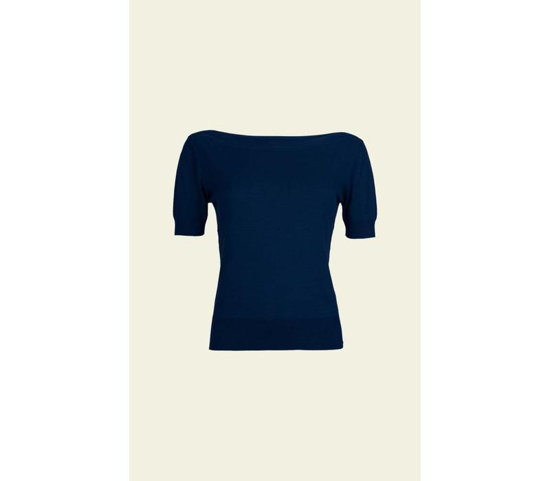 Shirt | Audrey Top Cottonclub | Dark Navy