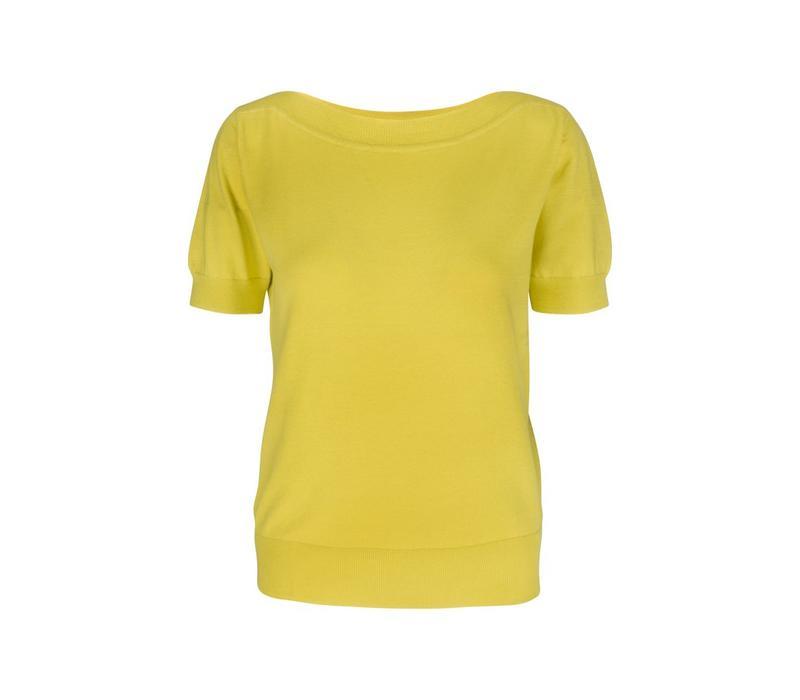 Shirt | Audrey Top Cottonclub | Lemon Yellow
