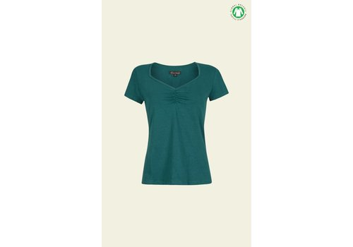 King Louie Shirt | Diamond Top Cotton Lycra Light | Ponderosa Green