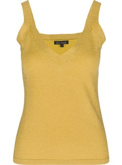 King Louie Shirt | Isa Camisole Lapis | Empire Yellow