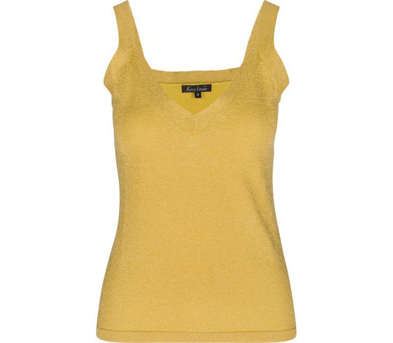 Shirt | Isa Camisole Lapis | Empire Yellow