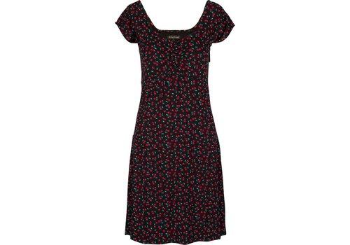 King Louie Kleid   Heidi Dress Cherise   Black