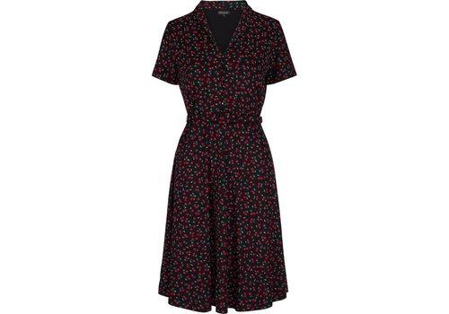 King Louie Kleid   Emmy Dress Cherise   Black