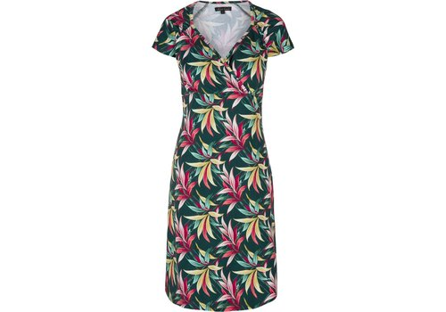 King Louie Kleid   Gina Dress Tulda   Peridot Green