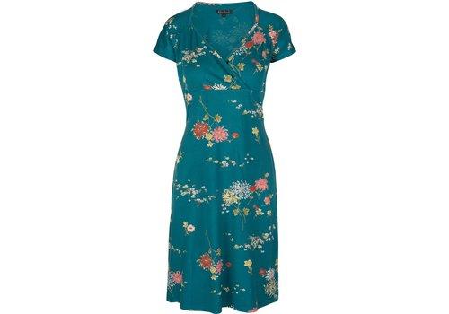 King Louie Kleid | Gina Dress Goldflower | Lapis Blue