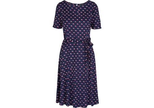 King Louie Kleid | Betty Dress Offshore | Blue