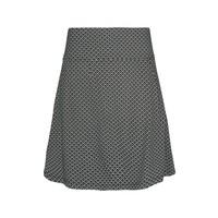 Rock | Border Skirt Sundae | Black
