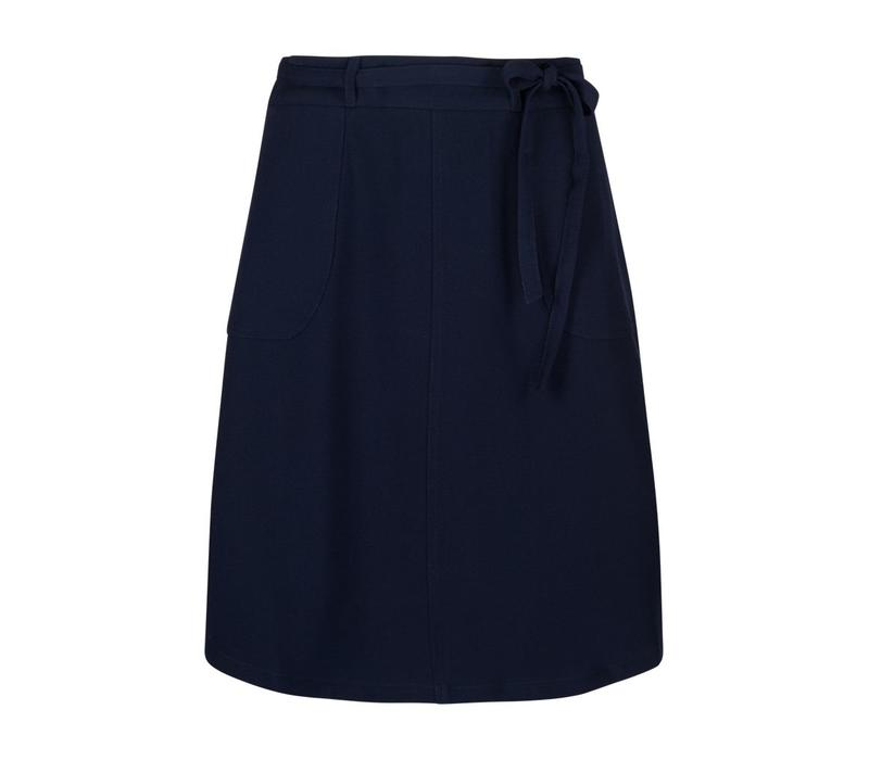Rock   Rosa Skirt Woven Crepe   Blue