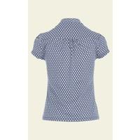 Shirt | Bow Blouse Conga |  Royal Blue
