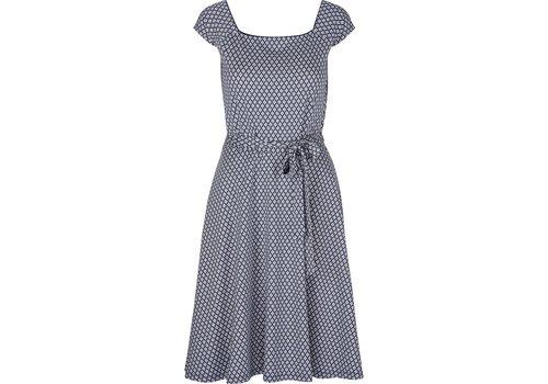 King Louie Kleid | Selma Dress Conga |  Royal Blue