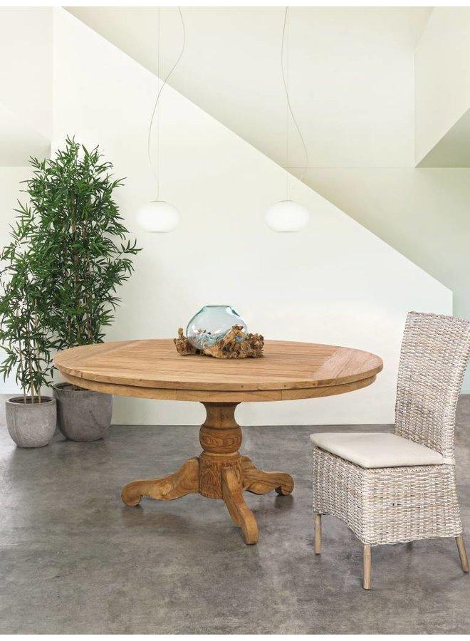 Rattanstuhl Isla | Indoor | mit Sitzkissen
