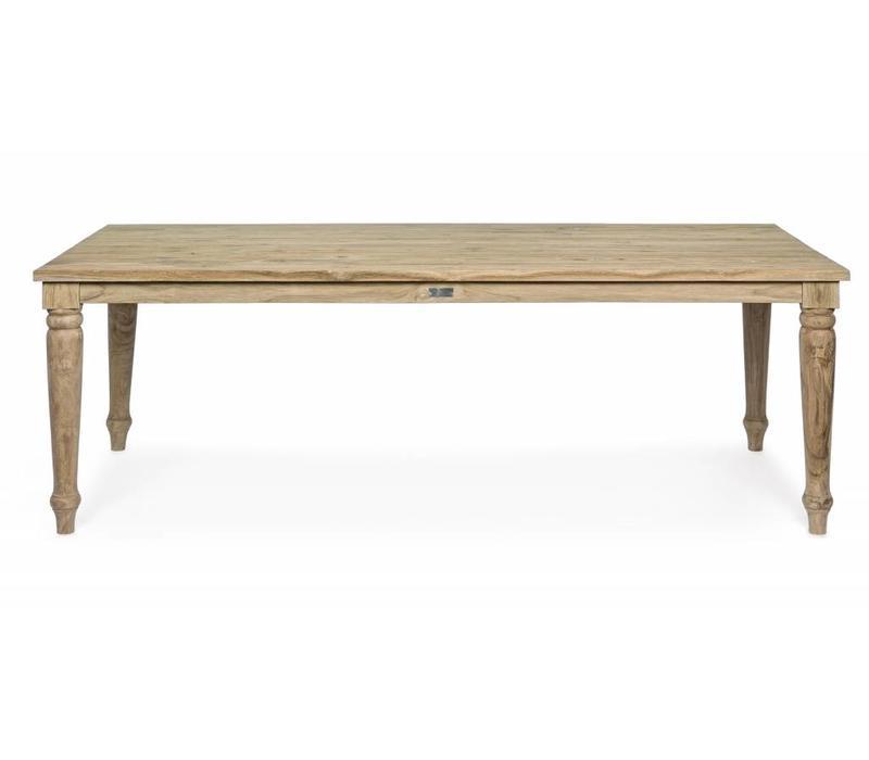 Teakholz Tisch | Monterrey | FSC Holz | 220x100