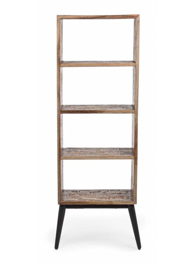 Vintage Büchergestell Regal Kent | 4 Bretter