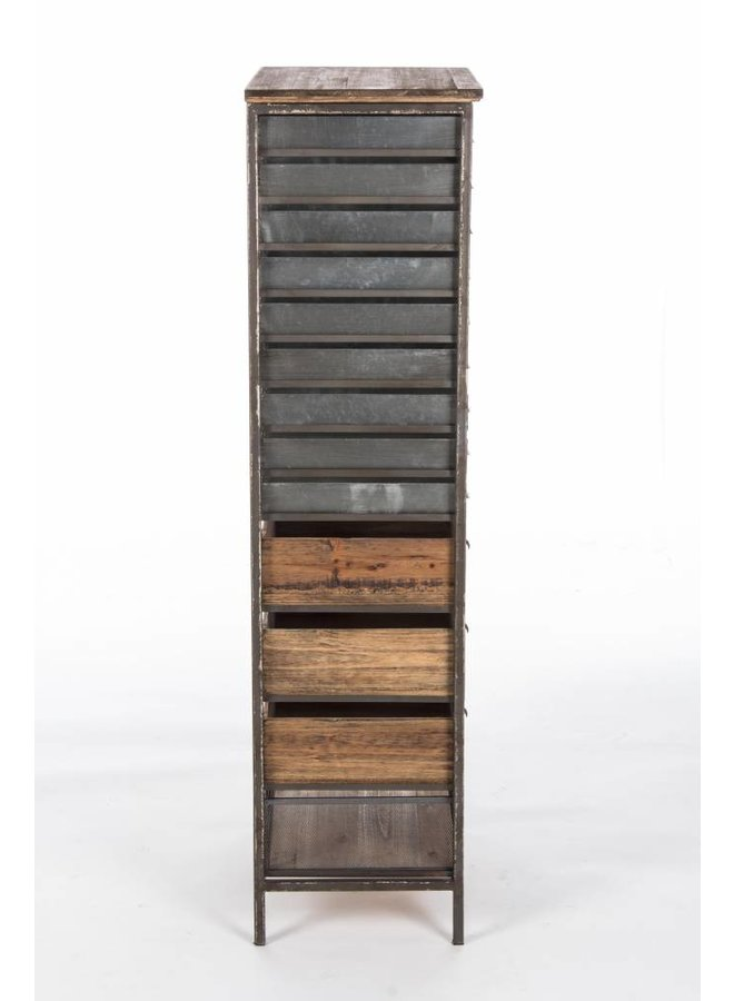 Vintage Büromöbel mit 22 Fächer