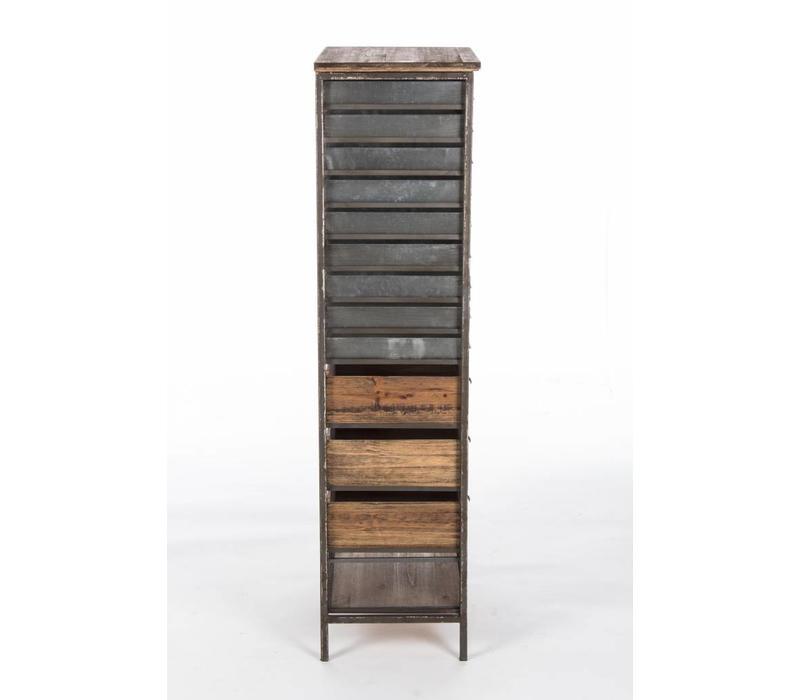 Vintage Büromöbel | 22 Fächer
