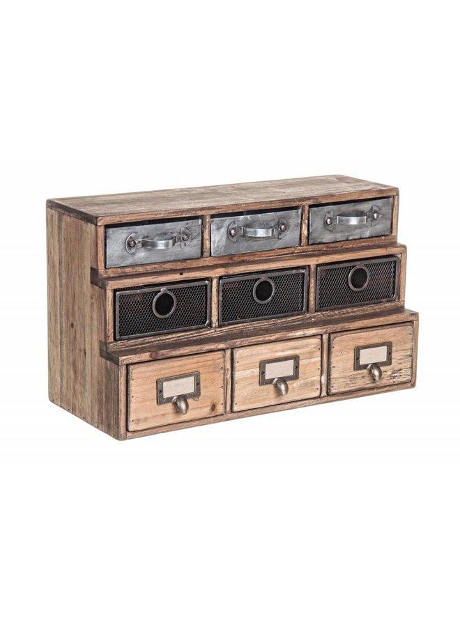 Vintage Büroablage - Officina 9S-2