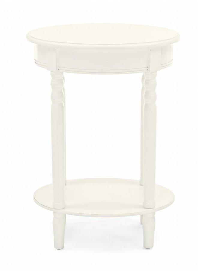 Shabby Chic Konsolentisch Amabel - Oval
