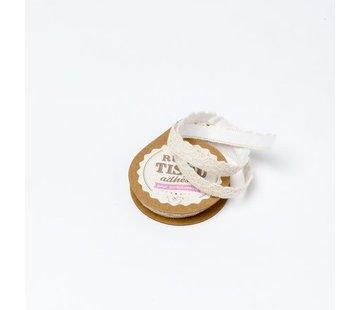 Spitzenband Tape selbstklebend | Beige | 1cm x 2m