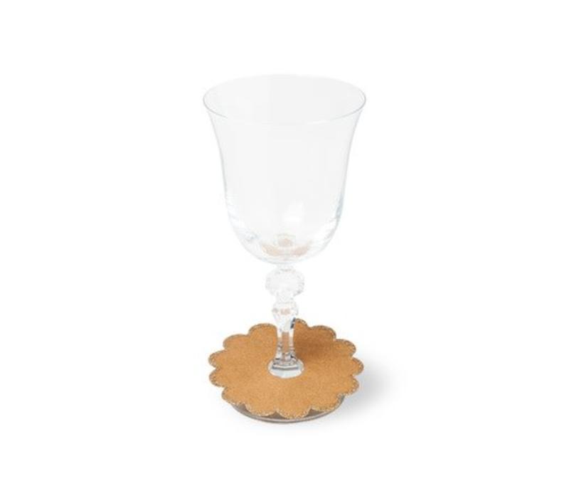 Weinglas Manschette Karton | 8er Pack | 9cm