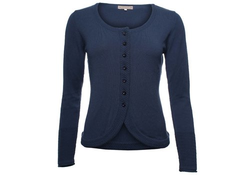 Sorgenfri Sylt Strickjacke | Wolke-midnight