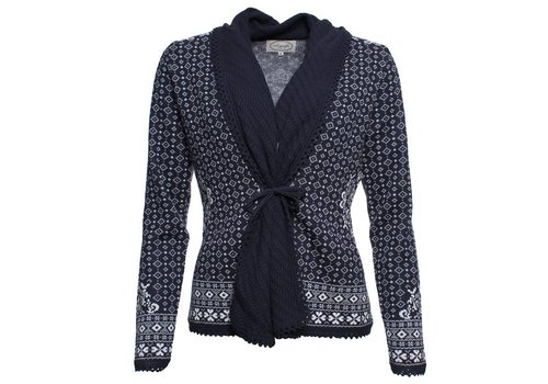 Sorgenfri Sylt Strickjacke | Almona-midnight