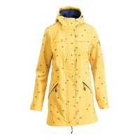 Softshell-Parka | wild weather long anorak | fly to the sun