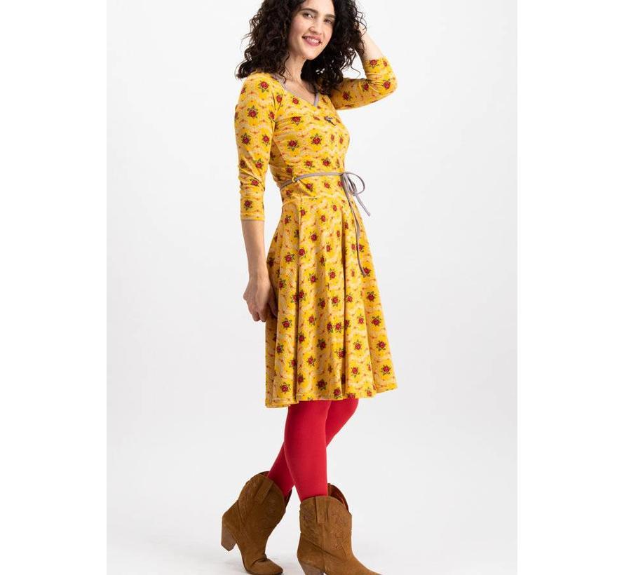 Kleid | country rose swing dress | born to die