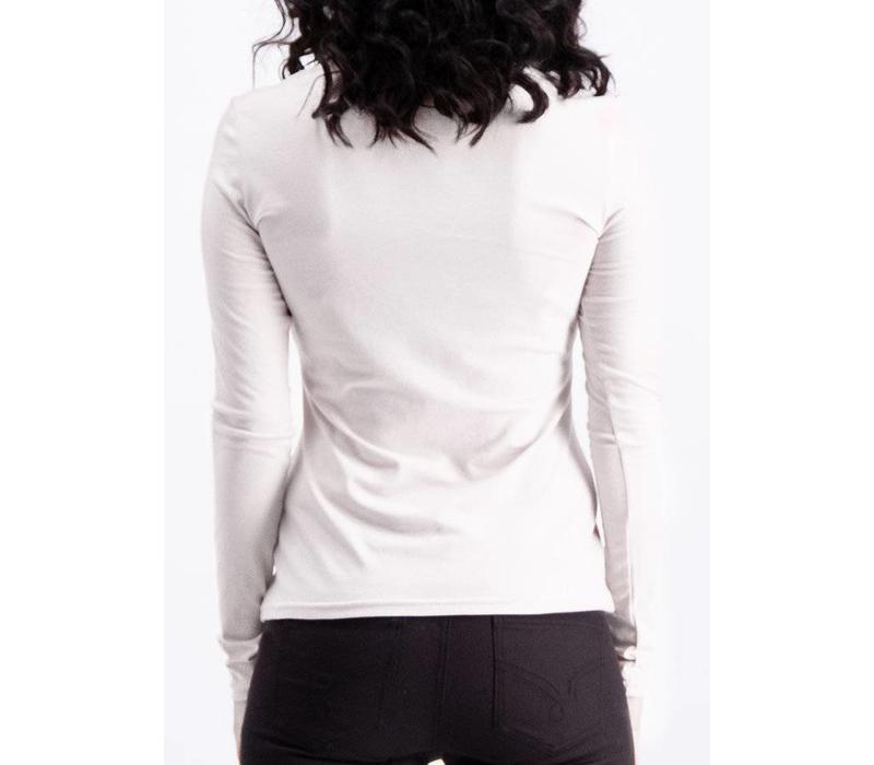 Shirt | logo heart longsleeve | scent of snow