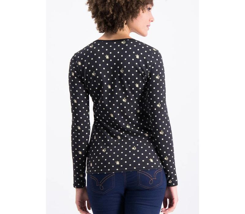 Shirt | mary lous lovely longsie | dots of country