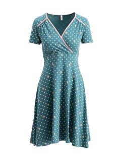 Blutsgeschwister Kleid | polka lady saloon dress | dots of homeland