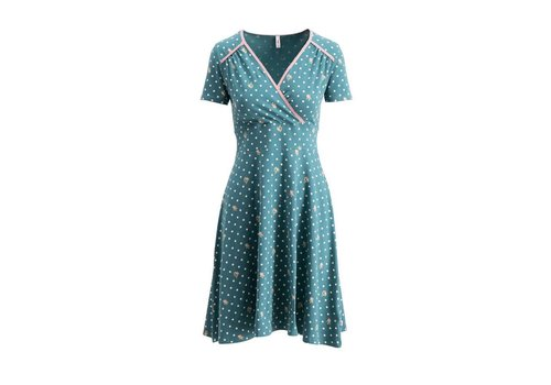 Blutsgeschwister Kleid | polka lady saloon dress | dots of homeland