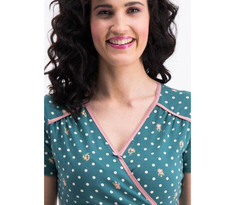 Kleid | polka lady saloon dress | dots of homeland