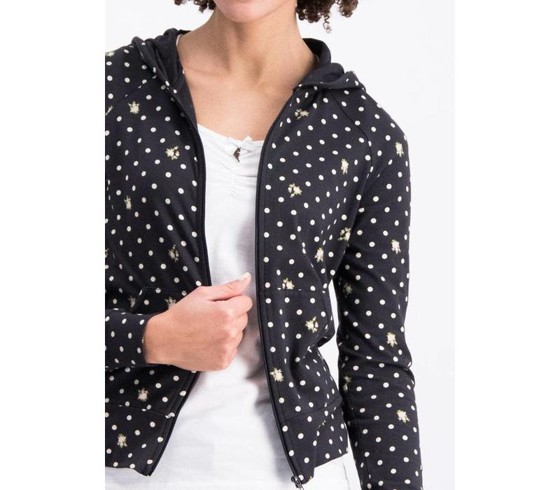 Jacke | sweet little cowgirl zip | dots of country