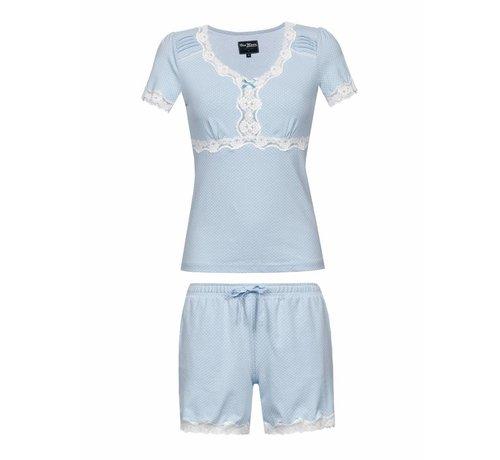 Vive Maria Pyjama | Dotty Pyjama Short | hellblau