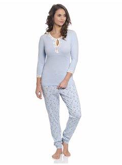 Vive Maria Pyjama   Katies Dream Long Pyjama   hellblau