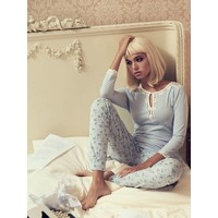 Pyjama   Katies Dream Long Pyjama   hellblau