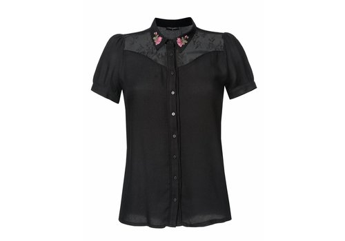 Vive Maria Bluse | Cowgirl Bluse | schwarz
