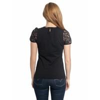 Bluse | Gipsy Queen Shirt | schwarz