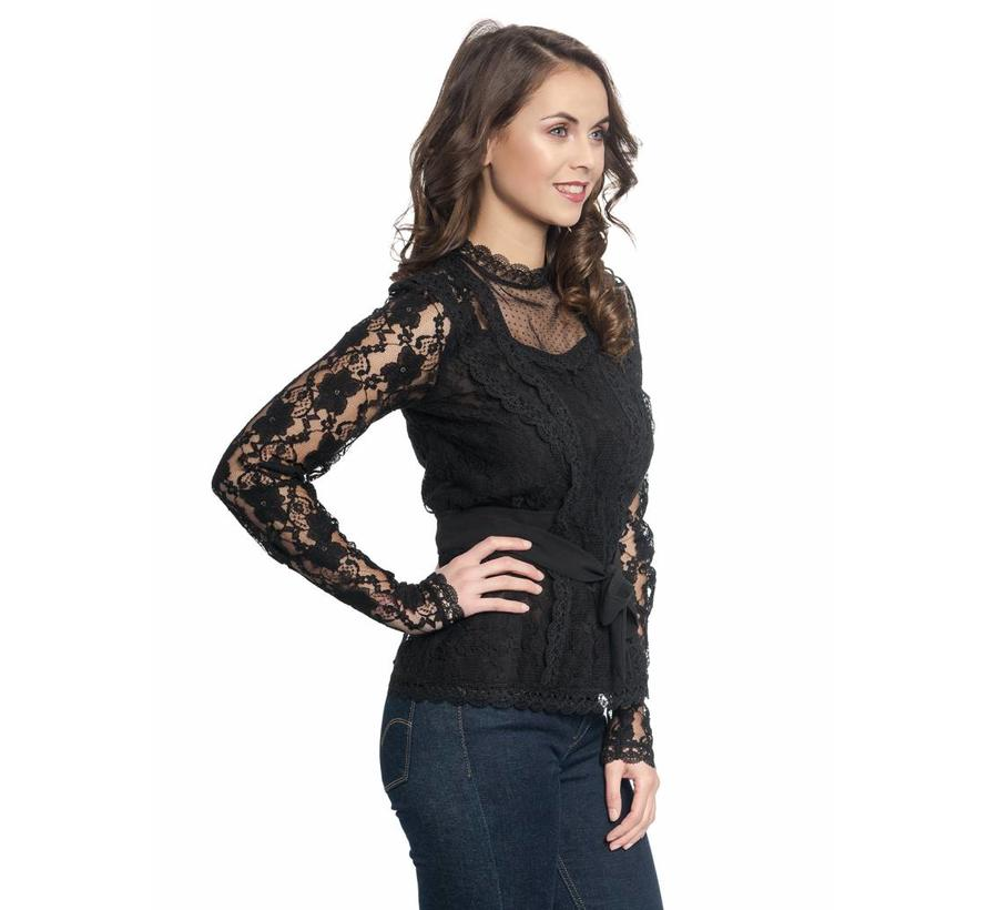 Bluse | Dandy In Love Bluse | schwarz
